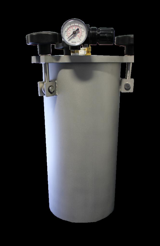 Fisnar FT5 5 Litre SS Fluid Reservoir (0-100psi)