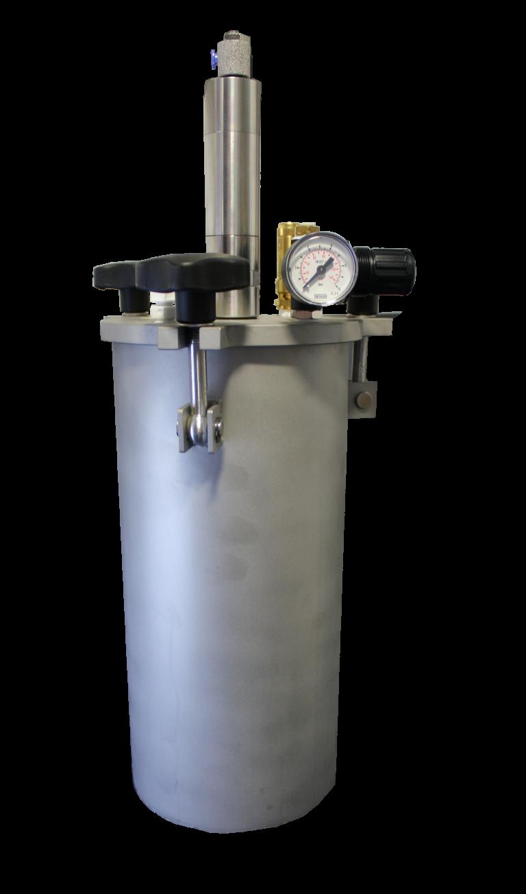 Fisnar FT5 5 Litre SS Fluid Reservoir (0-100psi) - Air Agi.