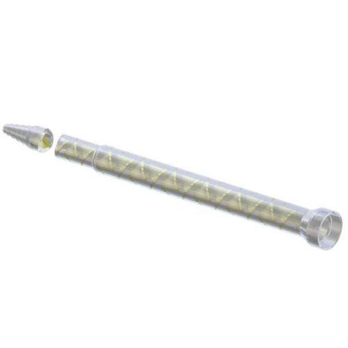 Sulzer Statomix 56 Element MS Mixer Straight Tip