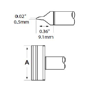 Metcal CFV-BL350 Tip Blade