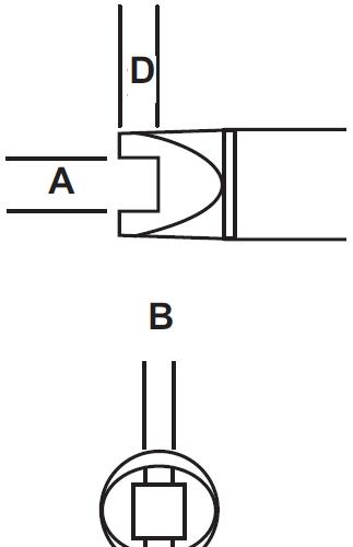 Metcal SMTC-505 Solder Tip