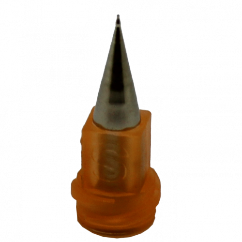 Fisnar 100m Orange Micron-S Micro Bore Nozzle - 5 Pack
