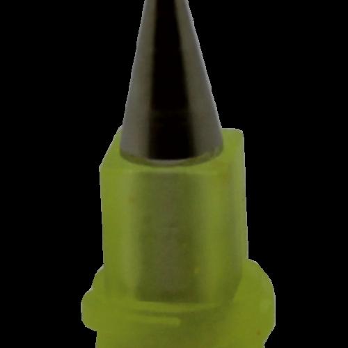 Fisnar 50m Yellow Micron-S Micro Bore Nozzle - 5 Pack