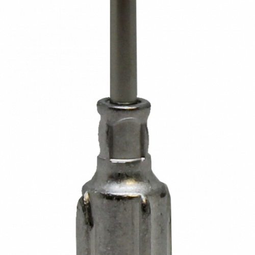 "Fisnar 15ga Aluminium 1/2"" Blunt End Tip - 50 Pack"