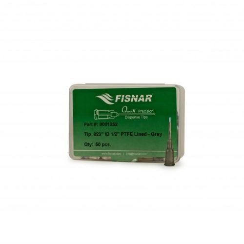 """Fisnar 0.023"""" I.D 1/2"""" PTFE Lined Tip - 50 Pack"""