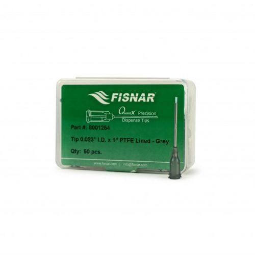 "Fisnar Grey 0.023"" I.D PTFE Lined Tip - 50 Pack"