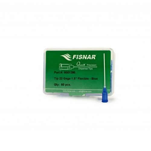 "Fisnar 22ga Blue 1.5"" Flexible Tip - 50 Pack"