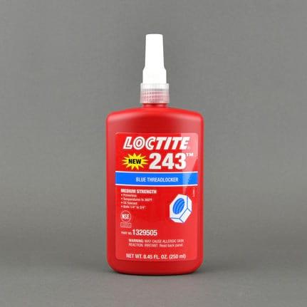 Henkel Loctite 243 Med-Strength Oil Tolerant Bag-In-Box