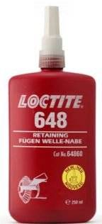 Henkel Loctite 648 Hi-Strength High-Temperature Fast Cure