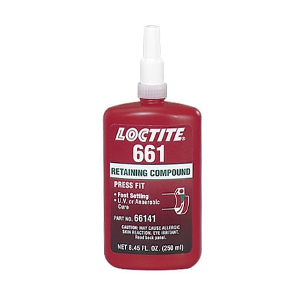 Henkel Loctite 661 UV cure version of 648