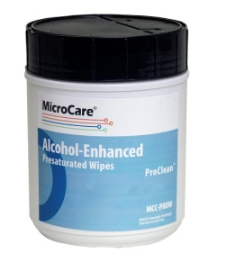 Microcare PROW PresaturatedStencil Wipes with ProClean