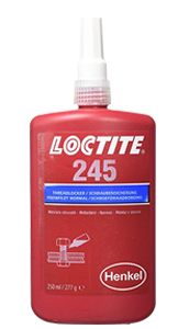 Henkel Loctite 245 Threadlocking Adhesive Bottle