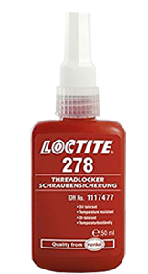Henkel Loctite 278 Threadlocker Bottle